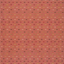 Rust/Green/Yellow Dots Drapery and Upholstery Fabric by Kravet