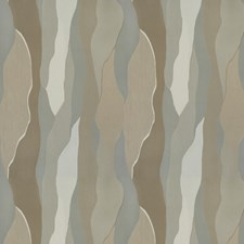 Neutral Terrain Geometric Drapery and Upholstery Fabric by S. Harris