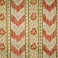 Multi Reds/Taupes Lisere Drapery and Upholstery Fabric by Scalamandre