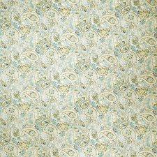 Ecru Paisley Drapery and Upholstery Fabric by Fabricut