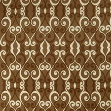 Mocha Lattice Drapery and Upholstery Fabric by Fabricut