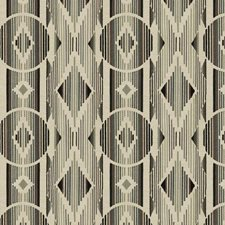 Gris Embroidery Drapery and Upholstery Fabric by S. Harris