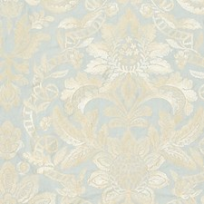 Aquamarine Drapery and Upholstery Fabric by Scalamandre