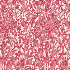 Hibiscus Drapery and Upholstery Fabric by Scalamandre