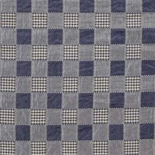 Blue/Beige Plaid Drapery and Upholstery Fabric by Kravet