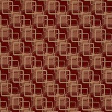 Burgundy/Red/Rust Modern Drapery and Upholstery Fabric by Kravet