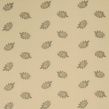 La Mer Leaves Drapery and Upholstery Fabric by Fabricut