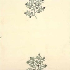 Beige/Light Blue Botanical Drapery and Upholstery Fabric by Kravet