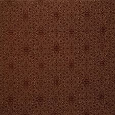 Beige/Burgundy/Red Bargellos Drapery and Upholstery Fabric by Kravet