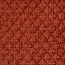 Rust Diamond Drapery and Upholstery Fabric by Kravet