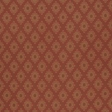 Rural Red Small Scale Woven Drapery and Upholstery Fabric by Fabricut