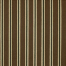 Brown/Green/Beige Stripes Drapery and Upholstery Fabric by Kravet