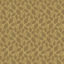 Gold Jacquard Pattern Drapery and Upholstery Fabric by Fabricut