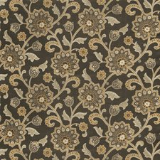 Granite Floral Drapery and Upholstery Fabric by Fabricut