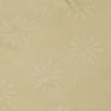 Beige Floral Drapery and Upholstery Fabric by Fabricut