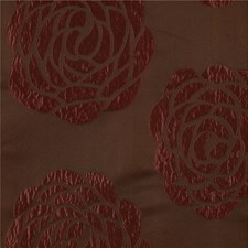 Rust Botanical Drapery and Upholstery Fabric by Kravet