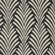Black/White Contemporary Drapery and Upholstery Fabric by Kravet