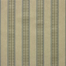 Beige/Light Blue Stripes Drapery and Upholstery Fabric by Kravet