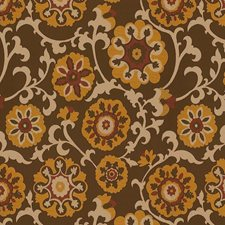 Cayenne Damask Drapery and Upholstery Fabric by Kravet