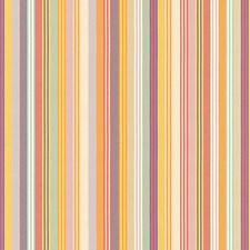Yellow/Purple/Multi Stripes Drapery and Upholstery Fabric by Kravet