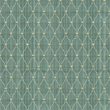Green/Beige Small Scales Drapery and Upholstery Fabric by Kravet