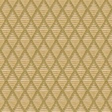 Beige/Green Diamond Drapery and Upholstery Fabric by Kravet