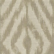 Beige Ikat Drapery and Upholstery Fabric by Kravet