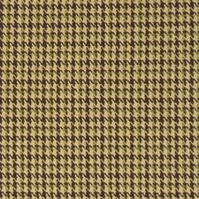 Chocolate Check Drapery and Upholstery Fabric by Fabricut