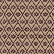 Beige/Purple Diamond Drapery and Upholstery Fabric by Kravet
