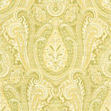 Beige/Green/Yellow Ethnic Drapery and Upholstery Fabric by Kravet