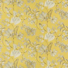 Citrine Leaves Drapery and Upholstery Fabric by Fabricut