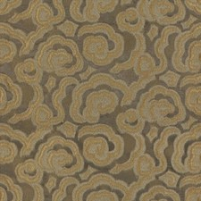 Nutria Botanical Drapery and Upholstery Fabric by Kravet