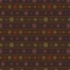 Blackberry Geometric Drapery and Upholstery Fabric by Kravet