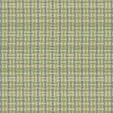 Green/Blue/White Texture Drapery and Upholstery Fabric by Kravet