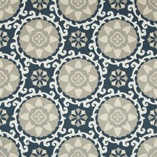 Indigo Outdoor Drapery and Upholstery Fabric by Kravet