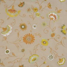 Natural Glazes Embroidery Drapery and Upholstery Fabric by Fabricut