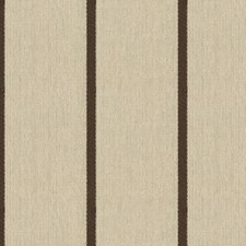 Mocha Stripes Drapery and Upholstery Fabric by Kravet