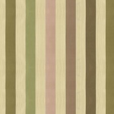 White/Pink/Beige Stripes Drapery and Upholstery Fabric by Kravet