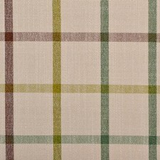 Sage/Brown Plaid Drapery and Upholstery Fabric by Duralee
