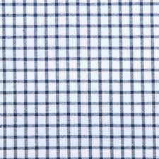 Blue Plaid Drapery and Upholstery Fabric by Duralee