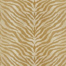 Yellow/White Animal Skins Drapery and Upholstery Fabric by Kravet