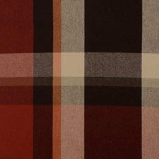 Cayenne Plaid Drapery and Upholstery Fabric by Duralee