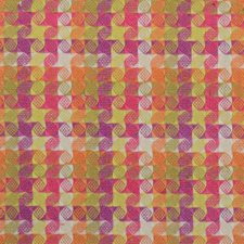 Blossom Geometric Drapery and Upholstery Fabric by Duralee