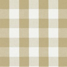 Khaki Plaid Drapery and Upholstery Fabric by Duralee