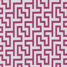 Magenta Abstract Drapery and Upholstery Fabric by Duralee