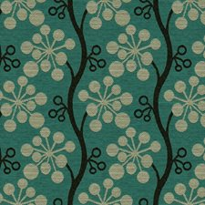 Grotto Botanical Drapery and Upholstery Fabric by Kravet