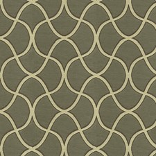 Brown/Beige Lattice Drapery and Upholstery Fabric by Kravet
