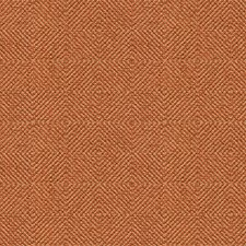 Orange/Beige Diamond Drapery and Upholstery Fabric by Kravet