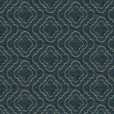 Dark Blue/Beige Solid W Drapery and Upholstery Fabric by Kravet