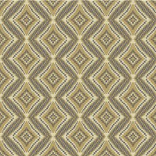 Ivory/Beige/Blue Diamond Drapery and Upholstery Fabric by Kravet